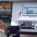 Jurassic Park Pinball Jeep
